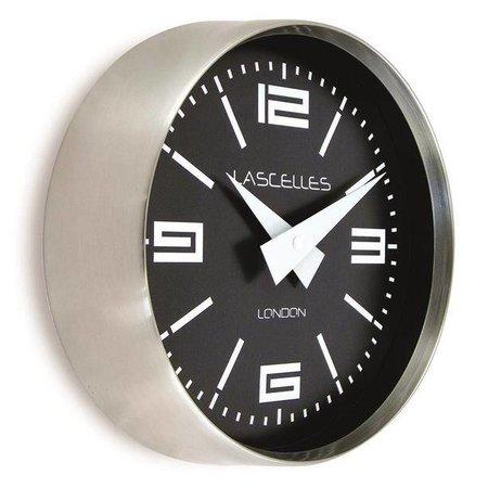 Lacelles Kitchen clock - Chrome
