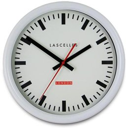 Lacelles Station clock - White