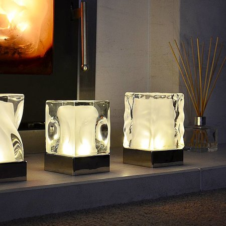 Insight Dimple chargeable lamp set