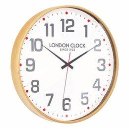 London clock Schoolklok - Boho - Hout