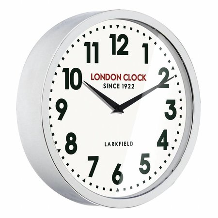 London clock Clock Station The Sterling Chrome