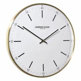 London clock Wandklok - Larson - Messing