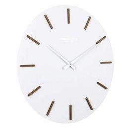 London clock Oslo wall clock White Resin