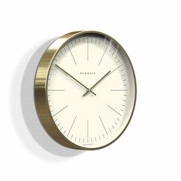 Newgate Oslo - Wall Clock - Brass