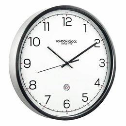London clock Wandklok - Turbo - Titanium
