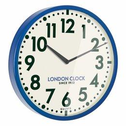 London clock Schoolklok - Tempest - Blauw