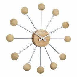 London clock Wandklok - Sputnik - Hout