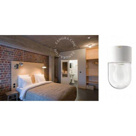 Zangra Ceiling lamp - in white porcelain