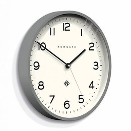 Newgate ECHO number three - Wall Clock - Grey