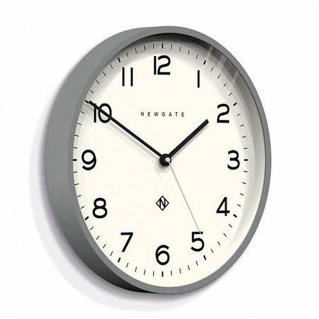 Newgate ECHO number three - Wall Clock - Grey