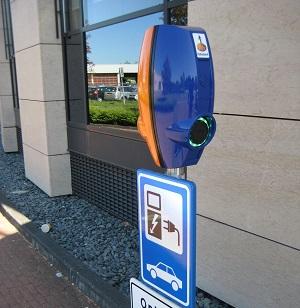 EV-Box bij bedrijf