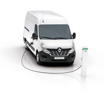 Laadpaal Renault Master ZE