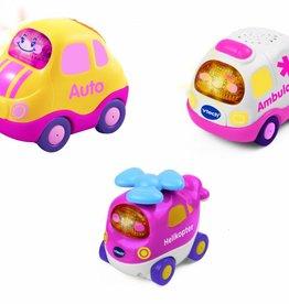 Vtech Toet Toet Auto's 3 roze voertuigen +12m