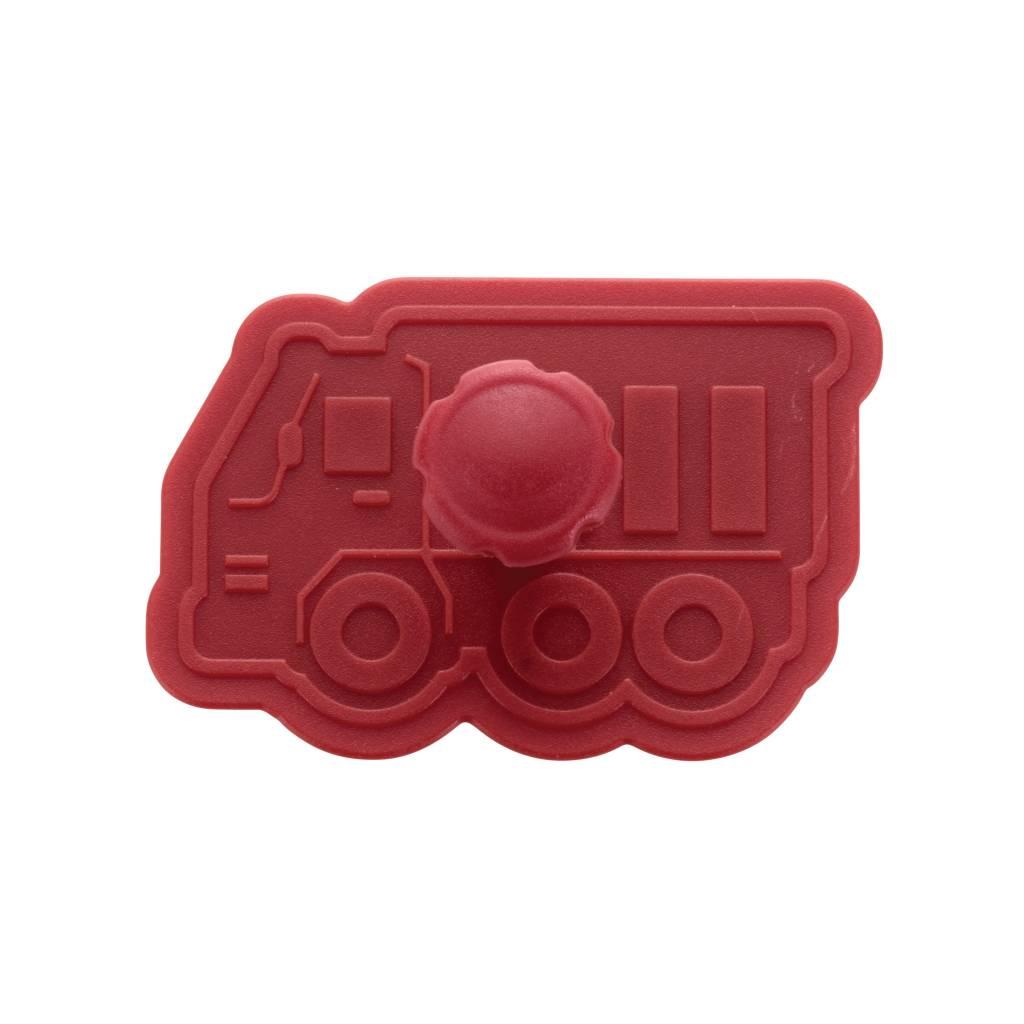 Cake Boss™ 4-delige stempelset 'Vrachtwagens'