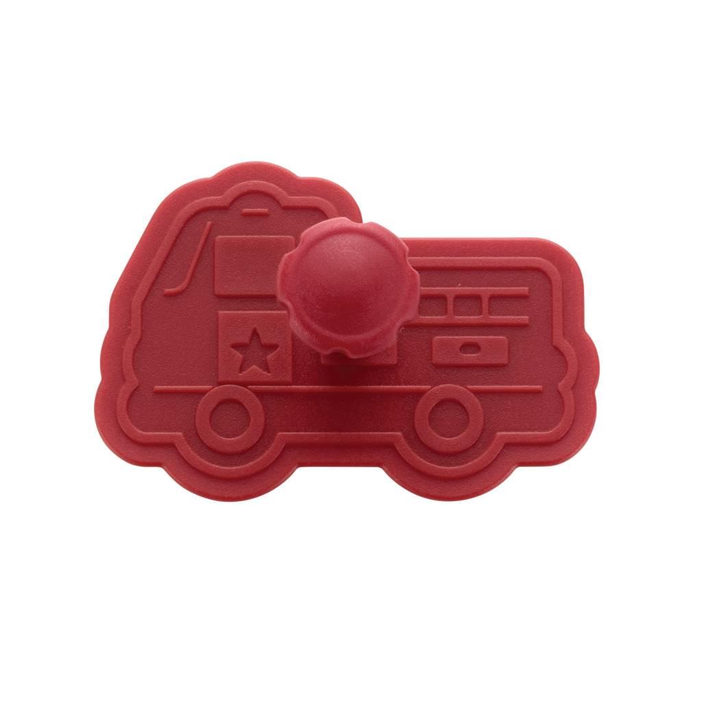 Cake Boss 4-delige stempelset 'Vrachtwagens'