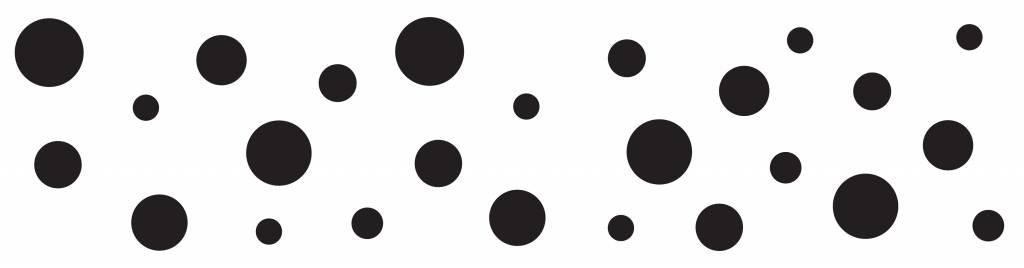 Cake Boss Fondantroller met patroon 'Dots'