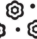 Cake Boss Fondantroller met patroon 'Flower & Dots'