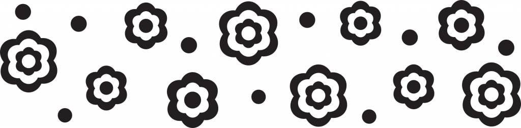 Cake Boss™ Fondantroller met patroon 'Flower & Dots'