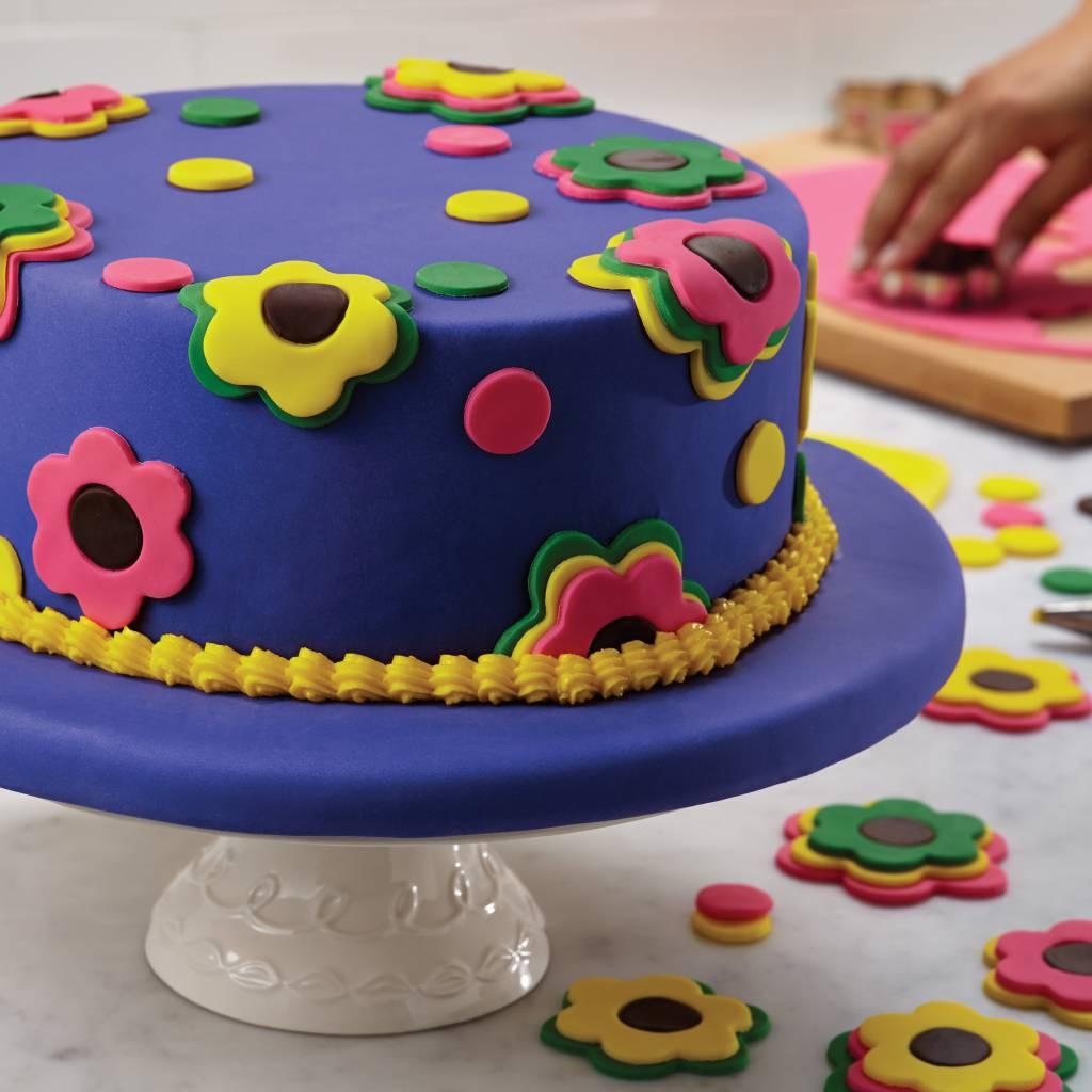 Cake Boss Decoratieset 'Girls / Flowers'
