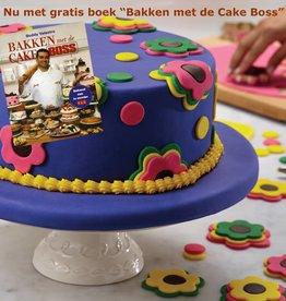 Cake Boss Decoratieset  'Girls / Flowers' + Gratis boek.
