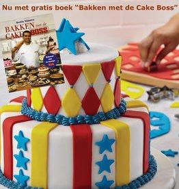 Cake Boss Decoratieset 'Circus' + Gratis boek.