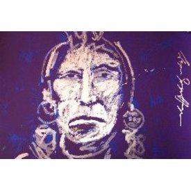 Espen Greger Hagen | Silver chief on purple