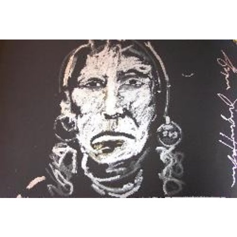 Espen Greger Hagen   Silver chief on black