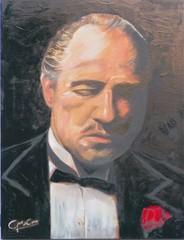 Producten getagd met Schilderij Don Corleone