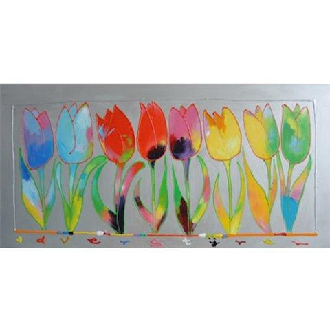 Ad Verstijnen | Tulpen op rij (designed by)