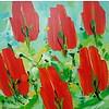 Ad van Hassel | Rode tulpen