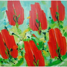 Ad van Hassel Ad van Hassel | Rode tulpen
