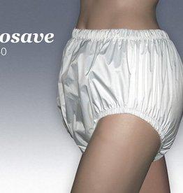 Incocare Polyurethaan (PU) broek met omzoomd elastiek