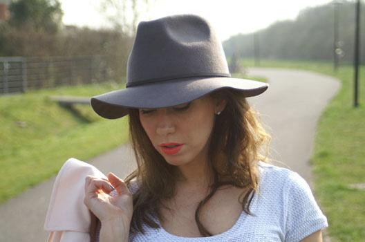 fedora hoed fashion trend
