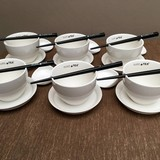PureTea Pure Tea theekopjes wit 24-delig