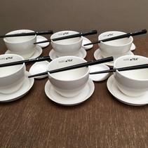 Pure Tea theekopjes wit 24-delig