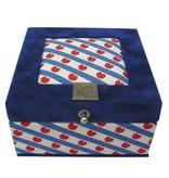 The Dutch Tea Box Theedoos Friesland souvenir 4 vaks