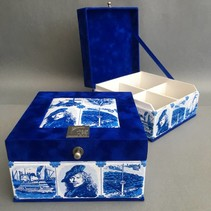Tea box Dutch souvenir Rembrandt