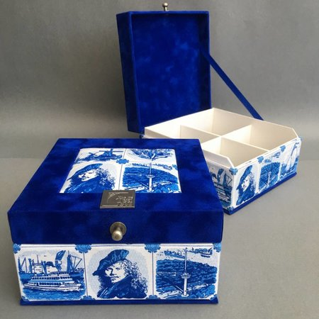 The Dutch Tea Box Tea box Dutch souvenir Rembrandt giftset