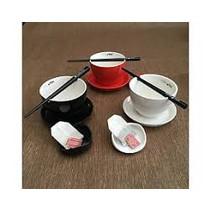 Pure Tea theekop zwart 4 delig