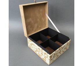 Tea box 4-compartment