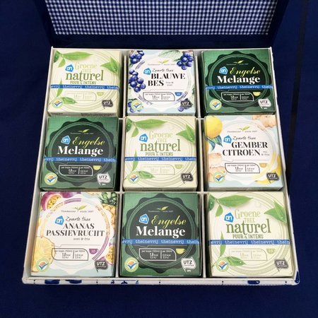 AH organic 9 tea boxes