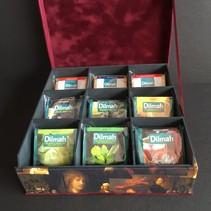 Dilmah thee voor 9 vaks theedoos