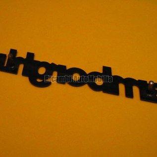 Lamborghini Script black