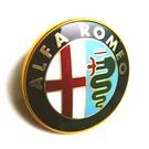 Emblem front Alfa Romeo Alfetta Sedan 1982-1984