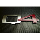 Sigle Q4 arrière Alfa Romeo 159 + Brera + Spider 2005-2010