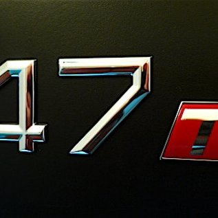 Alfa Romeo 147 Script 147ti rear