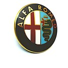 Emblem rear Alfa Romeo 156 2003-2007