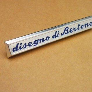 Alfa Romeo Giulia GT + GT Veloce Emblem fender Disegno di Bertone