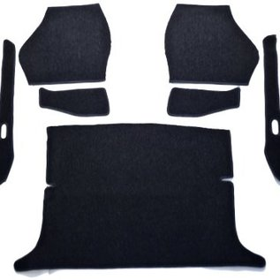 VW Type 34 Karmann Ghia Coupe Carpet set interior loop black
