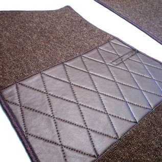 BMW E21 Sedan Carpet set interior loop dark brown